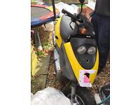 Kymco 49cc 2001 petrol yellow