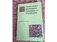 Asset Price Dynamics, Volatility, and Prediction Taylor, Stephen J.