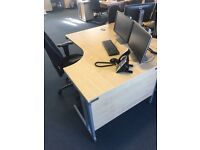 Office Furniture // Desks - Chairs - Pedestals *** 100 of each