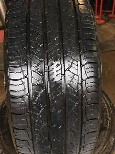 235-70-16 Michelin Latitude pair of 2 Used 75%tread Free Install and balance