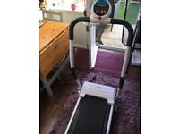 Brand new tread mill for sale. Unwanted gift. Does calories, miles must be seen