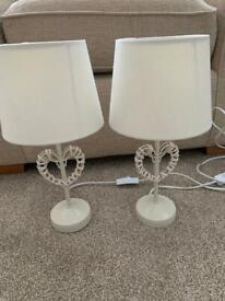 Heart lamps