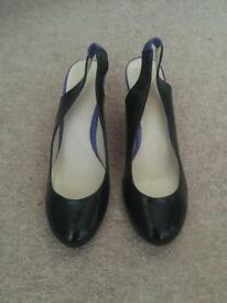 *New* M&S Black Heels Size 3