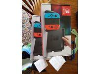 Nintendo switch brand new cheapest with receipt warranty neon