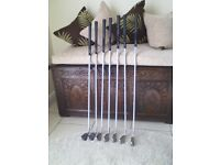 Classic Ping Eye 2+ Back Spot irons with JZ steel shafts 4 to PW