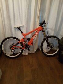 Giant glory 2008 downhill bike