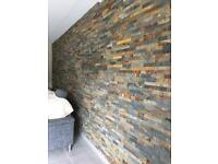 wall and floor tiling service