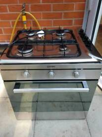 Indesit gas hob and owen