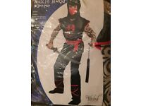 muscle ninja warrior (new) age5 to 7yrs
