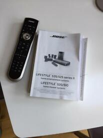 Bose Lifestyle Theatre System