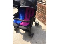 Joie double buggy.
