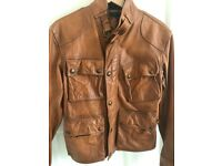 Leather Jacket Polo Ralph Lauren, New,size S