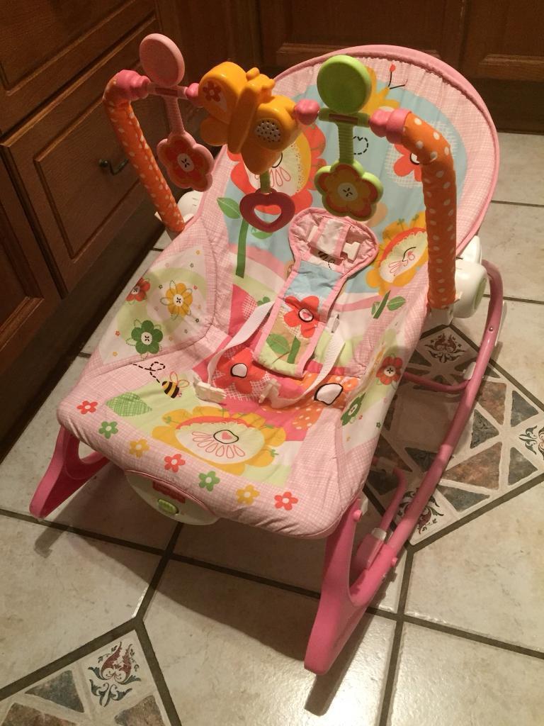 Fisher Price Infant To Toddler Rocker In Basingstoke Hampshire Pink