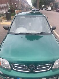 NISSAN MICRA, 10MONTH MOT, FSH, FULL LOG BOOK, 1LITRE, 4 NEW TYRES - FIRST TO SEE WILL BUY!