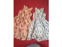 2x girls dresses vgc