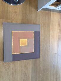 EX JOHN LEWIS CANVAS (50cm x 50cm)