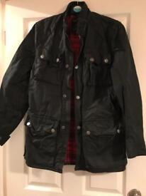Blue Inc men's black coat (small)