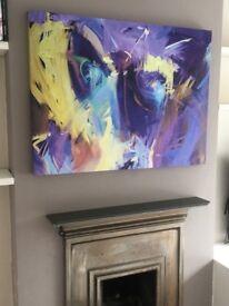 Pastel Art Canvas 102x77cm
