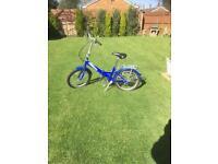 Folding bike ammanco