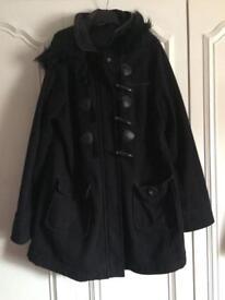 Maternity coat, New Look, size 14