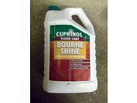 Bourne shine Floor polish