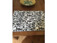 Pebbled Canvas