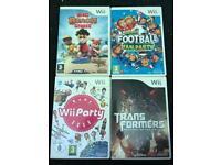 4x Wii games