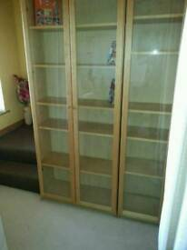 Double display/bookcases