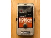 For sale: Electro Harmonix Nano Small Stone Phaser guitar effects pedal