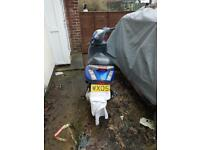 Piaggio Zip 70cc 12 Months Mot Ready To Ride Away