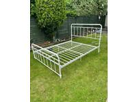 1950's style king size bed frame