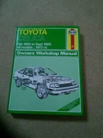 Toyota Celica Haynes Manual