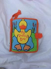 My duckling soft fabric book