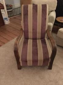 Beautiful armchairs. Professionally upholstered.