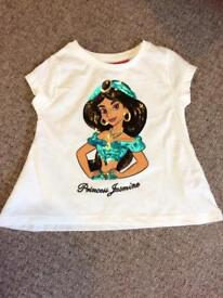 Disney Princess Jasmine T-Shirt 2-3 BNWT