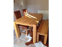 Table and chairs reduced to £350 or any reasonable offer