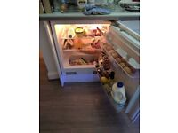 Integrated undercounter fridge for sale. Without housing cabinet.
