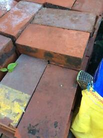 86x reclaimed clay pavers