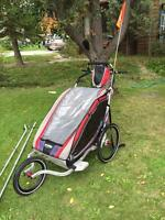 Chariot stroller twin