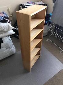 Ikea small bookcase/DVD storage