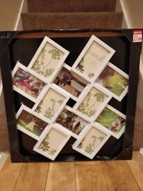 Large multi picture frame collage