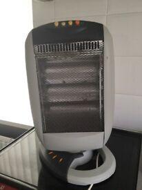 Halogen heater.