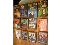 Martina Cole books bundle x12