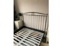 IKEA Sultan Metal Frame Double bed and mattress
