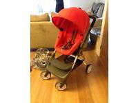 Stokke Scoot V1 red stroller pram buggy