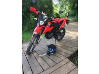 UN DSR 125 (Honda replica) enduro , not yz crf rm Exc