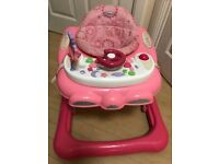Graco Pink Baby Walker-Excellent Condition