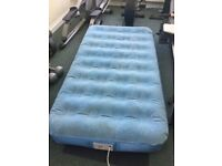 Aerobed Single Bed with motor