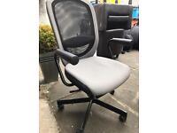 Black grey office chair