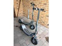 Two razor scooters E300